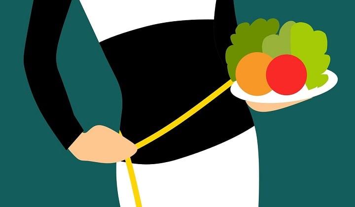 gå ner i vikt kost