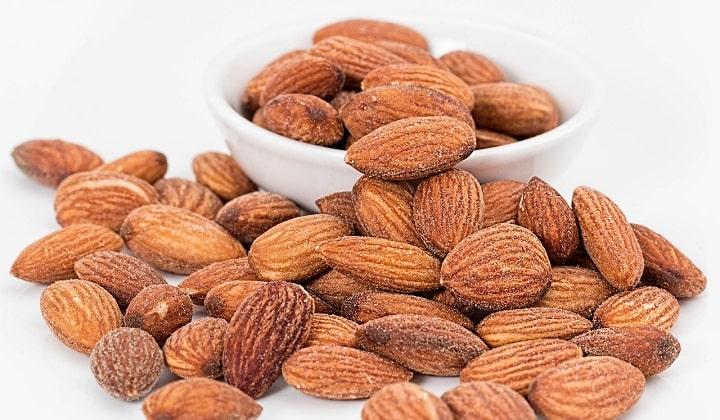 magnesium almonds mandlar